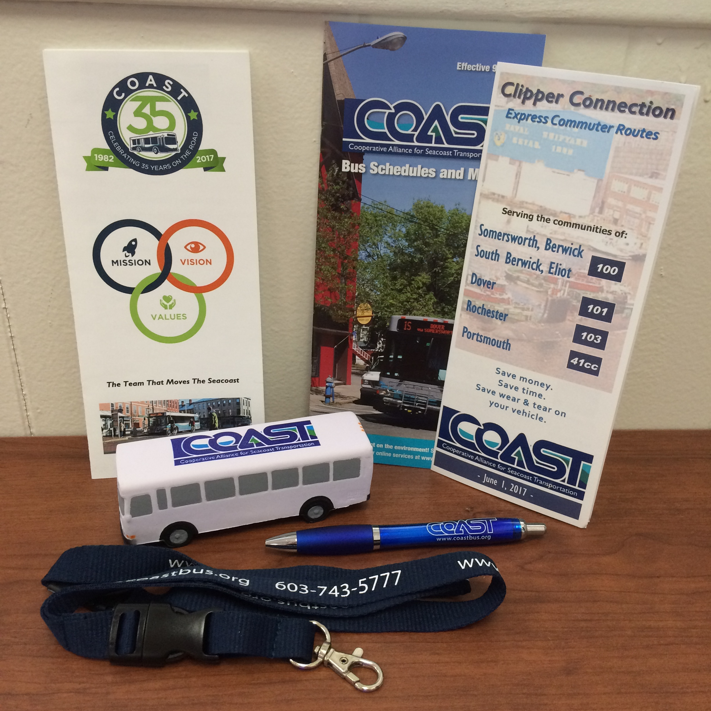 COAST Collector's Package