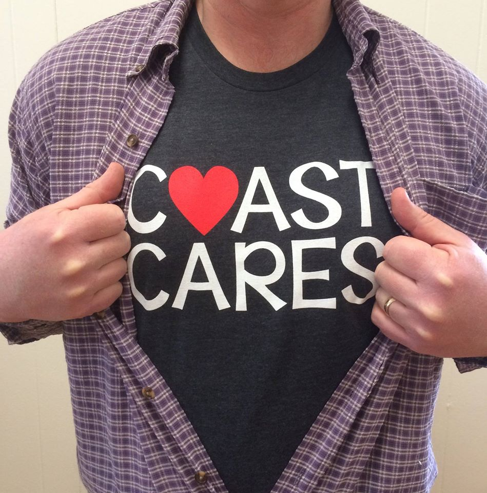 coast cares tshirt